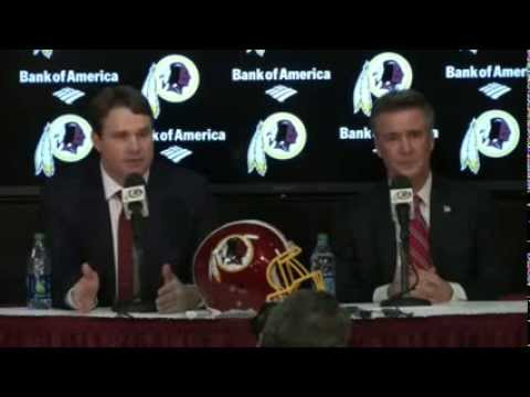 Jay Gruden Introduced as Redskins New Head Coach