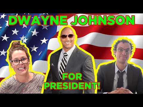 Dwayne 'The Rock' Johnson for President: OFFICIAL CAMPAIGN HEADQUARTERS!