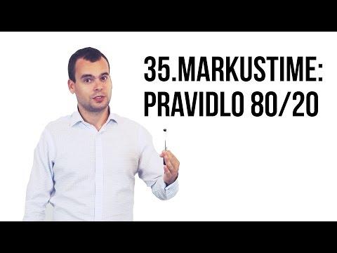 35: MarkusTime: Pravidlo 80/20