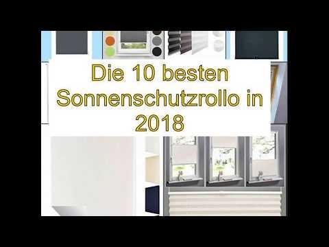 Die 10 besten Sonnenschutzrollo in 2018