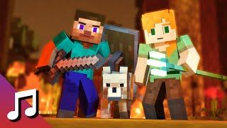 ♪ We'll Meet Again - TheFatRat & Laura Brehm (Minecraft Animation) [Music Video]