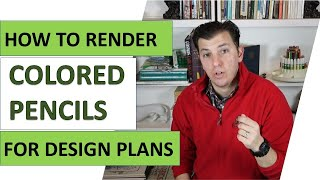 How To Render Landscape Plans With Colored Pencils