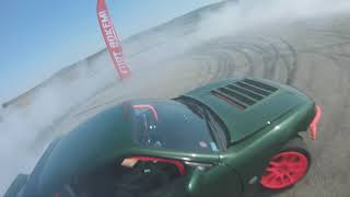 Nissan S14 vs BMW E46 FPV drift footage