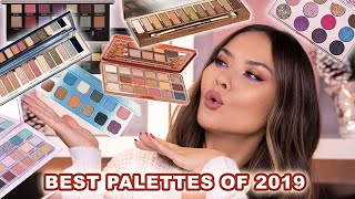 BEST EYESHADOW PALETTES OF 2019 | Maryam Maquillage