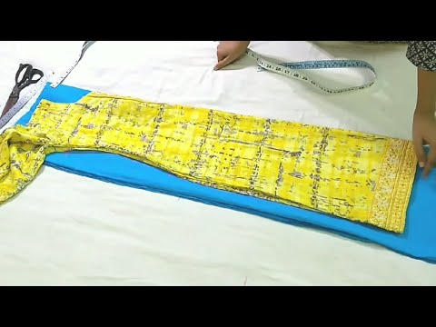 सूट पर suit रखकर cutting कैसे करे, how to cut suit by placing another suit on it, easy way to cut