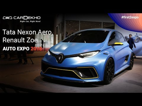 Unexpected Cars @ Auto Expo 2018