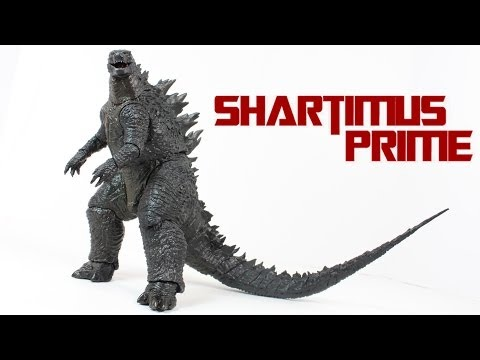 "NECA 12"" Godzilla 2014 Movie Action Figure Review"