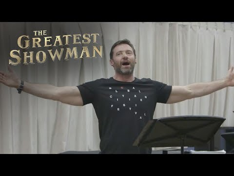 Hugh Jackman The Greatest Showman Ensemble From Now On