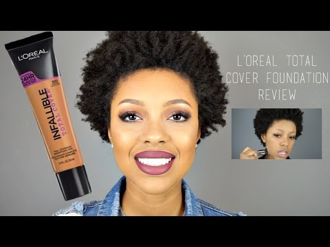 NEW Loreal Infallible Total Cover Foundation | Demo + First Impressions