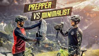 PREPPER vs MINIMALIST - MTB Enduro Tour Ausrüstung mit Rucksack oder Hip Bag? GRINDELWALD SCHWEIZ