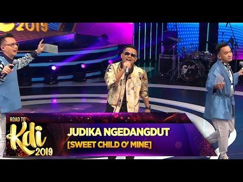 BEST! Judika buat [SWEET CHILD O'MINE] Jadi Dangdut - Road To KDI 2019 (3/7)