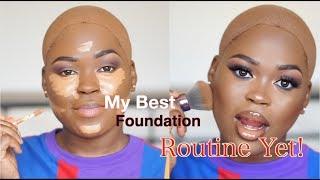 My Best Foundation Routine Yet!