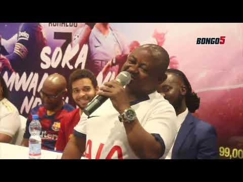 Tazama cheche za Pierre Likwidi/ Amvunja mbavu Romy Jons