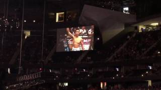 UFC 202 intro from the arena McGregor Diaz