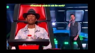 더보이스 미국 시즌7 Andy Cherry - Everybody Wants to Rule the World