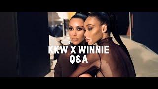 Q&A with Kim Kardashian West & Winnie Harlow | KKW Beauty