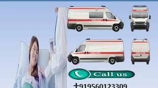 Hi-tech and Affordable Road Ambulance Service in Patna and Ranchi