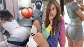 pokimane THICC  HOT MOMENTS!