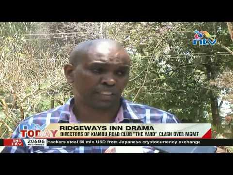Directors of Kiambu road club The Yard clash over management