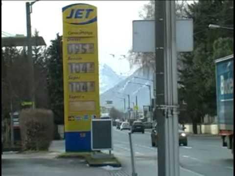 Troit der große Aufwand des Benzins