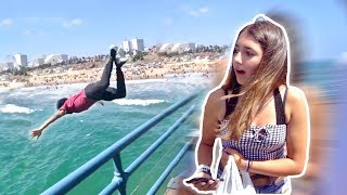 I Jumped off the Pier for Her Number (ALMOST ARRESTED) re-uploaded