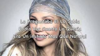 Thalia - Tranquila Feat. Fat Joe (Lyric Video)