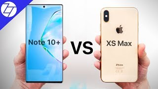Samsung Galaxy Note10+ vs Apple iPhone XS Max – Which One to Get?