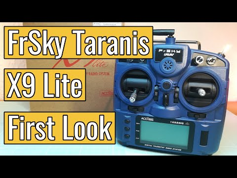 FrSky Taranis X9 Lite - First Look