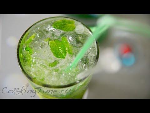 МОХИТО | Коктейль Mojito | простой рецепт коктейля | как приготовить дома