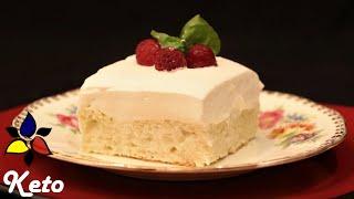 Tres Leches Cake – Pastel De Tres Leches – Sugar Free, Gluten Free | Keto Cake Recipe