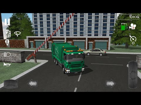 Trash truck simulator for Android | Game for kids |