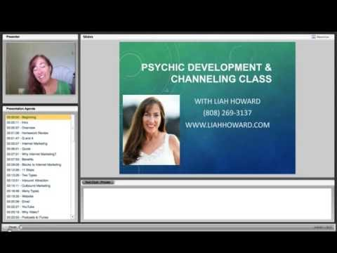 Free Psychic Classes - Lesson 19 - Offering Your Services Online