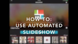 How To Add Automated Slideshow And Adjust Content In Frame Using PicPlayPost Video Editor