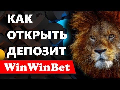 Как вложить деньги или открыть депозит на платформе WinWinBet ?
