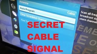 Download Youtube: Secret Free TV Signal Through Internet with NO Cable Subscription or Equipment