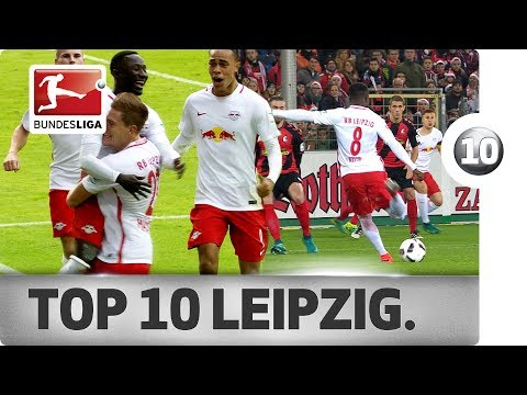 Top 10 Goals - RB Leipzig - 2016/17 Season