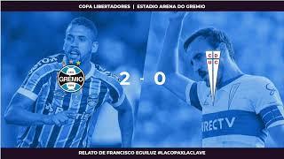 EN VIVO   Copa Libertadores   Gremio Vs Universidad Católica   #LaCopaXLaClave