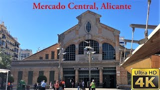 Central Market Of Alicante, Spain June 2018