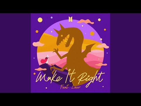Bts 방탄소년단 Make It Right Feat Lauv Official Mv