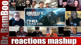 Godzilla: King of the Monsters  - Official Trailer 2 REACTIONS MASHUP