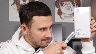 Распаковка Redmi Note 7 / Смартфон «Нагибатор»