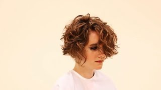 Pixie Cut For Curly Hair Tutorial