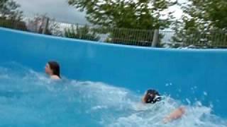 preview picture of video 'Laguna Badeland, Weil am Rhein - Wildwasserrutsche'