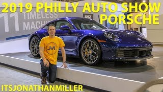 NEW YOUTUBE VIDEO-PORSCHE 911 992 CARRERA 4S AT THE 2019 PHILLY AUTO SHOW