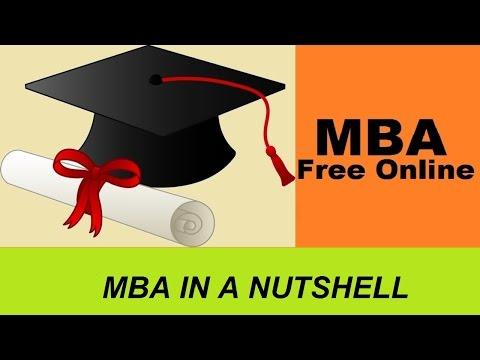 MBA - Free Online MBA Program   Mini MBA Course - YouTube