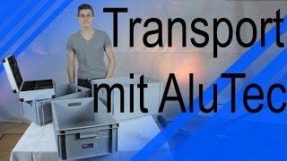 Review | AluTec Euroboxen und Werkzeugkoffer | Transport unseres Equipments
