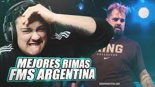 LAS MEJORES RIMAS DE FMS ARGENTINA JORNADA 1 *IMPRESIONANTE* | Estrimo 2019