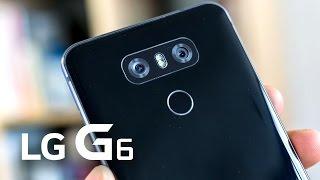 Месяц с LG G6 - корейцы сделали хорошо? + Drop Test Light