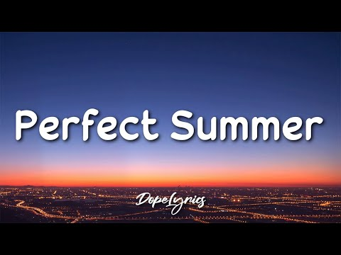 Scott the Pisces - Perfect Summer (feat. Aleesia)(Lyrics) 🎵