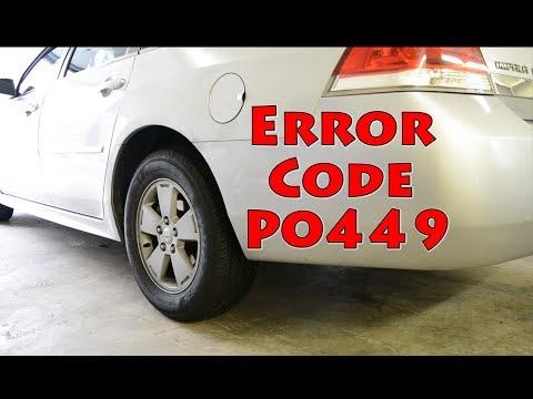 p0449 code gmc acadia